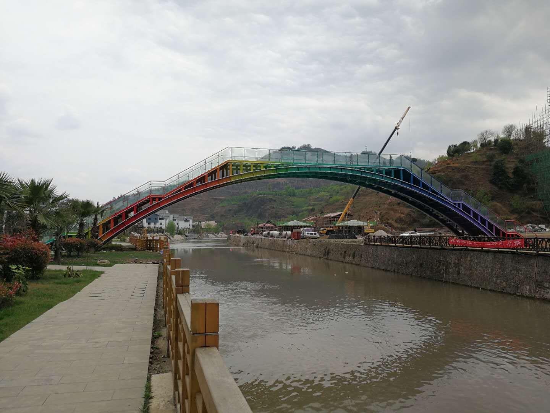 六盘水百车河玻璃景观大桥